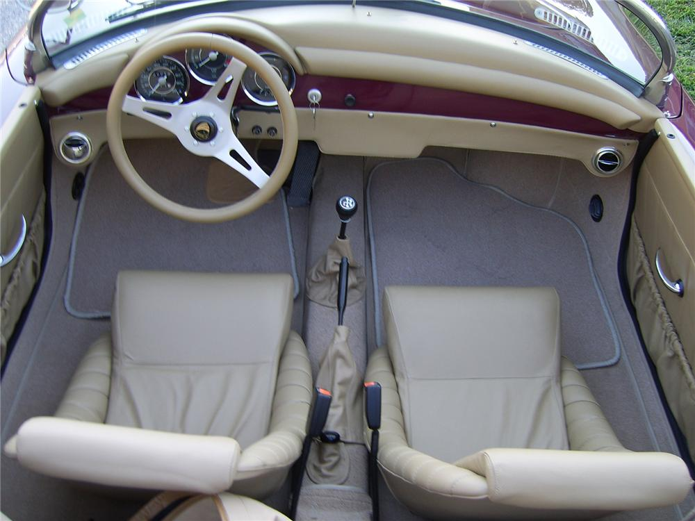 1956 porsche 356 speedster re creation 43308 for Creation interieur