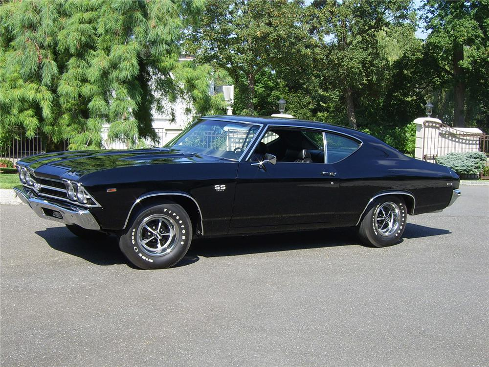 1969 CHEVROLET CHEVELLE SS 396 COUPE - Side Profile - 43309