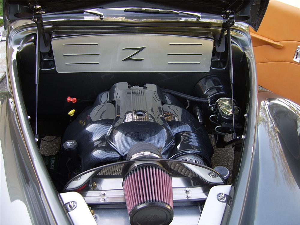 1939 LINCOLN ZEPHYR CONVERTIBLE RE-CREATION - Engine - 43311