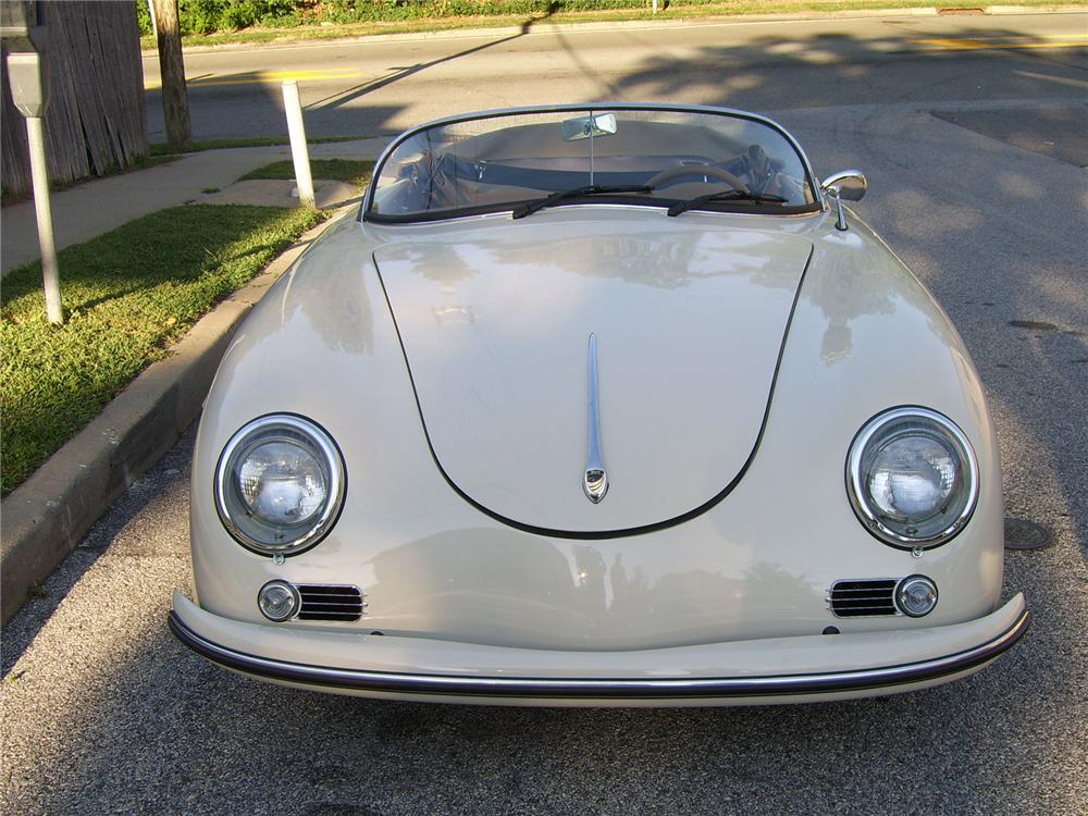 1956 PORSCHE SPEEDSTER RE-CREATION - Front 3/4 - 43317