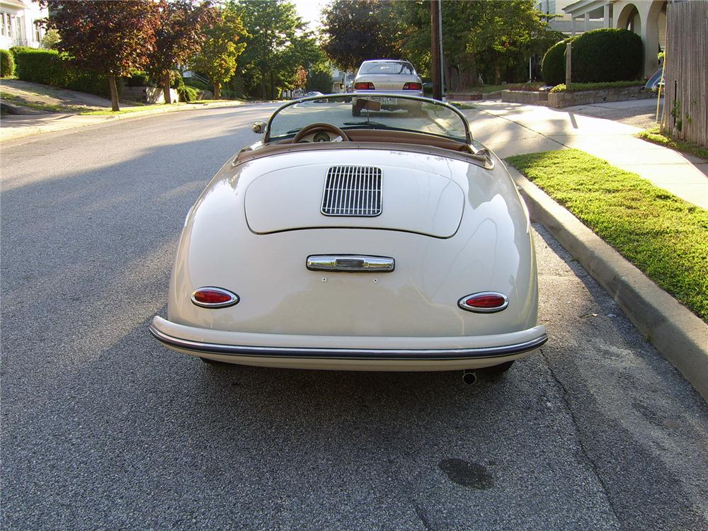 1956 PORSCHE SPEEDSTER RE-CREATION - Rear 3/4 - 43317
