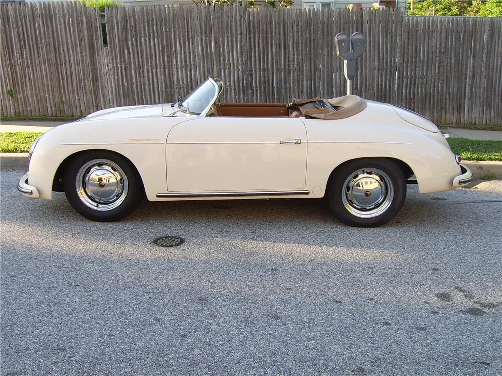 1956 PORSCHE SPEEDSTER RE-CREATION - Side Profile - 43317