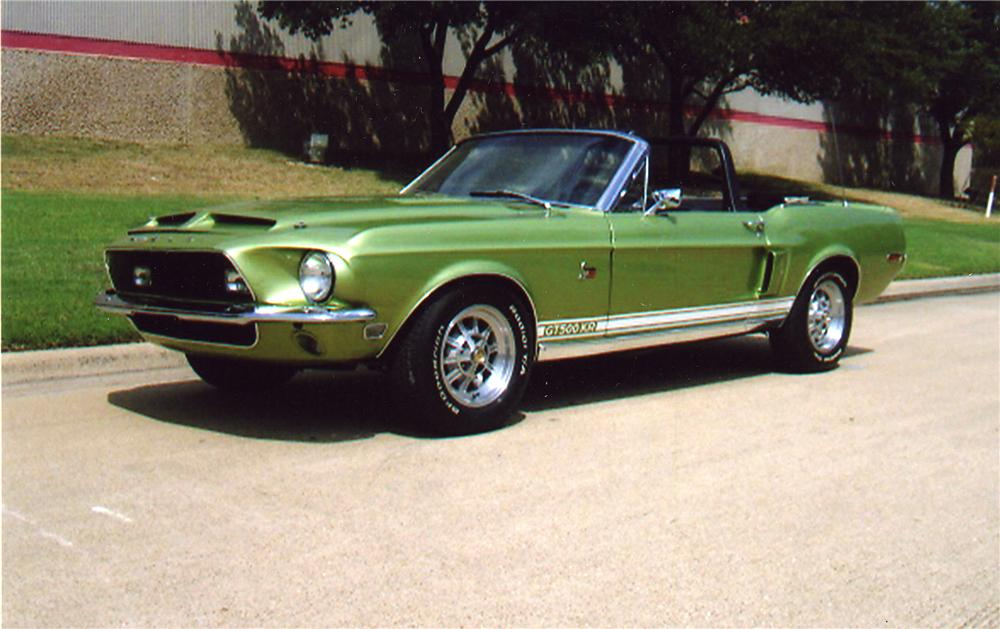 1968 SHELBY GT500 KR CONVERTIBLE - Front 3/4 - 43322