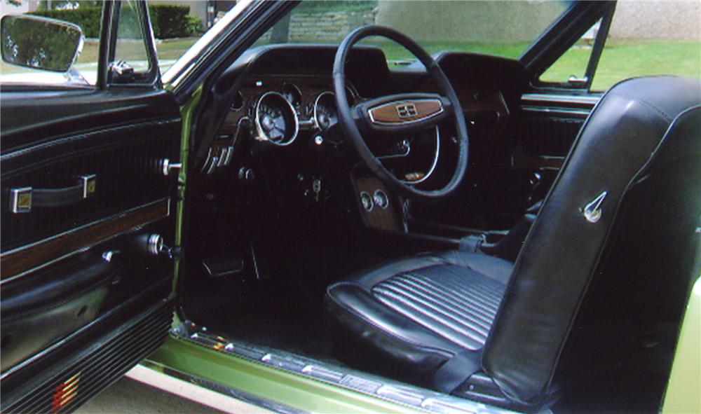 1968 SHELBY GT500 KR CONVERTIBLE - Interior - 43322