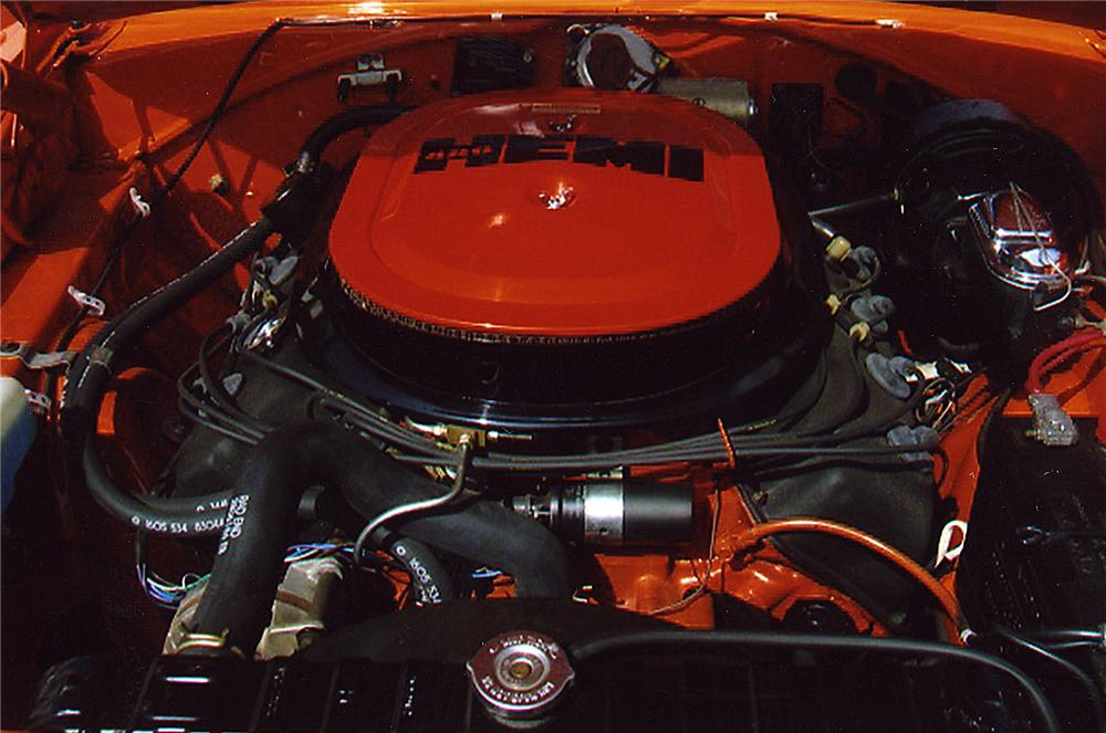 1970 PLYMOUTH HEMI SUPERBIRD 2 DOOR HARDTOP - Engine - 43326