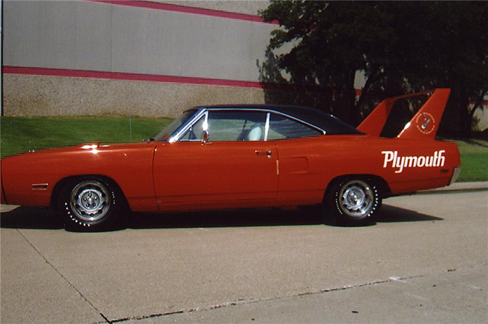 1970 PLYMOUTH HEMI SUPERBIRD 2 DOOR HARDTOP - Side Profile - 43326