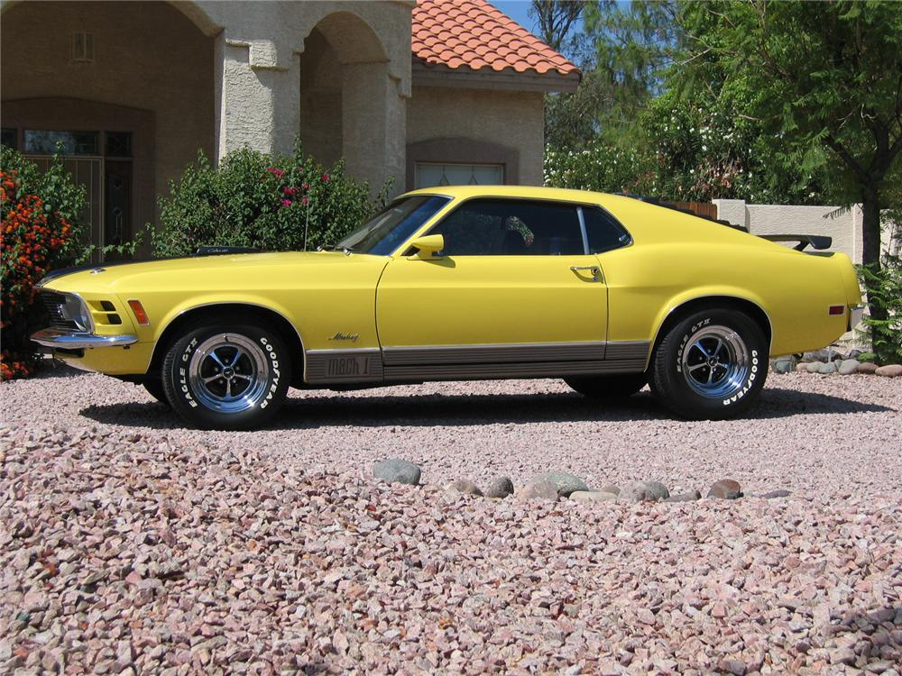 1970 FORD MUSTANG MACH 1 FASTBACK - 43333