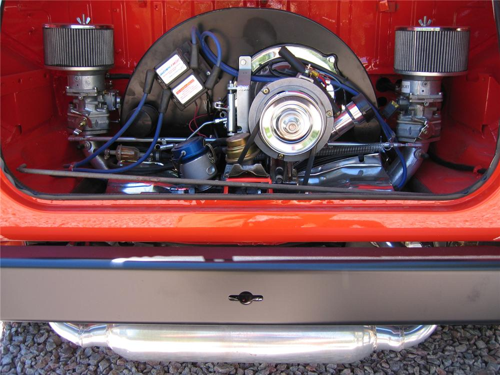1974 VOLKSWAGEN THING CONVERTIBLE - Engine - 43341