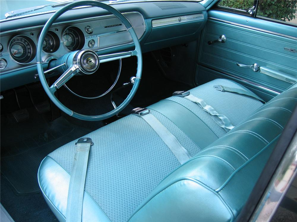 1965 CHEVROLET MALIBU 2 DOOR HARDTOP - Interior - 43347