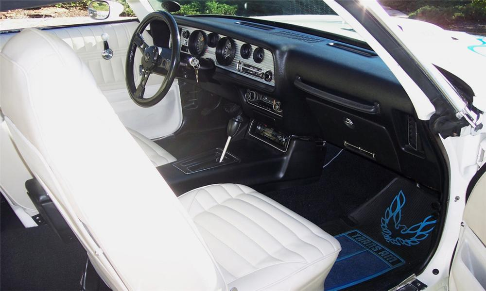 1973 PONTIAC TRANS AM COUPE - Interior - 43349