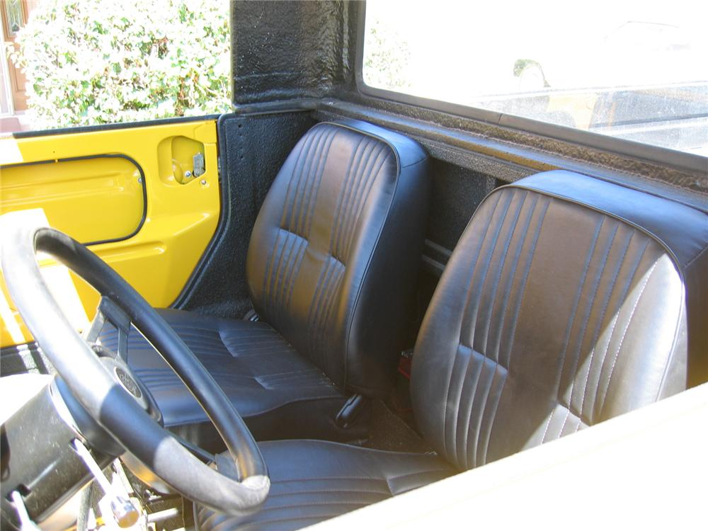 1973 VOLKSWAGEN THING PICKUP - Interior - 43364