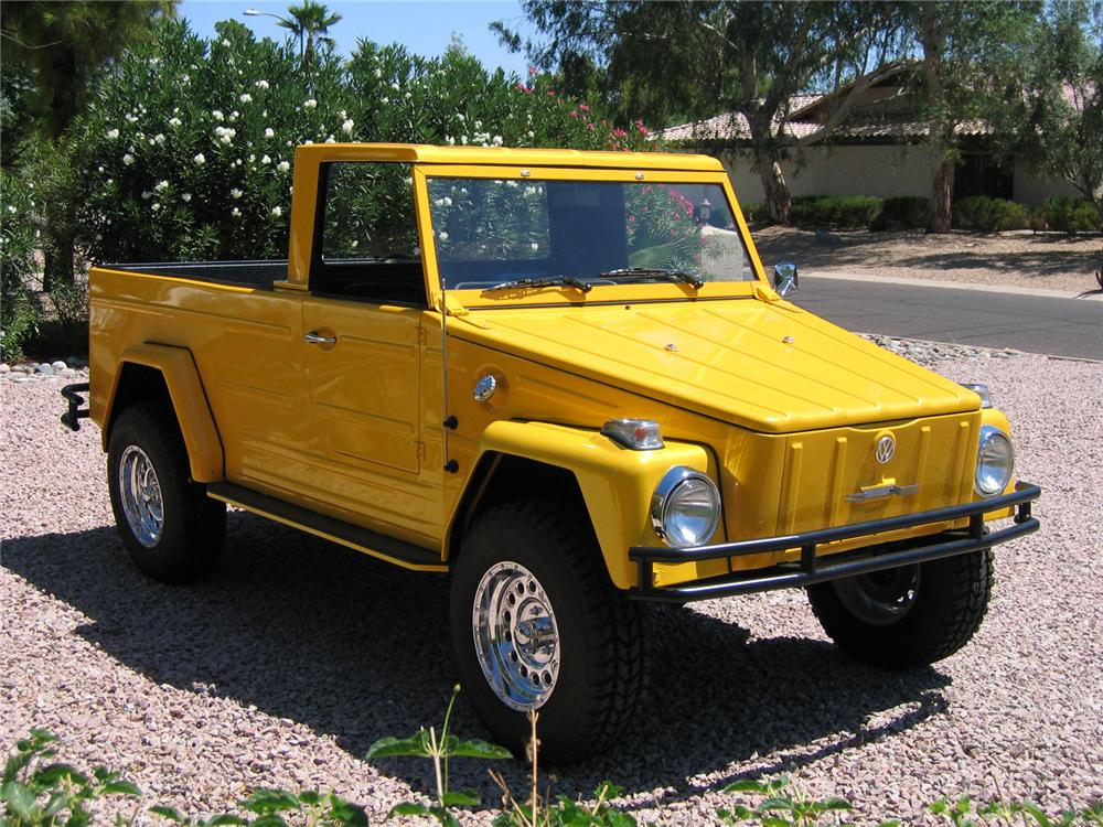 1973 VOLKSWAGEN THING PICKUP - Misc 1 - 43364