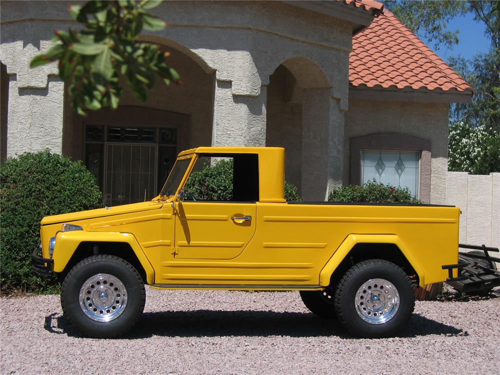 1973 VOLKSWAGEN THING PICKUP - Side Profile - 43364