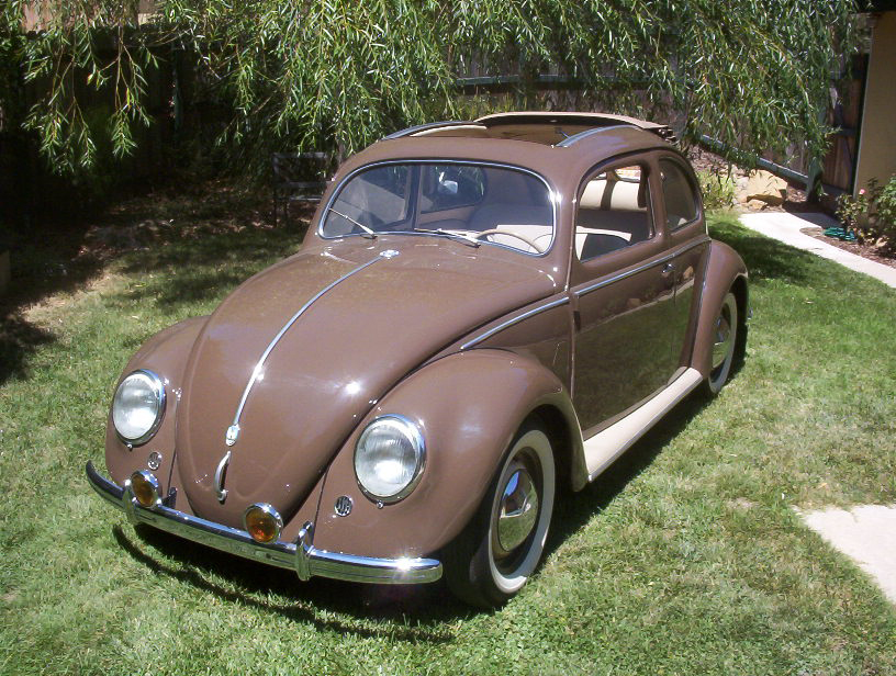 1951 VOLKSWAGEN SPLIT WINDOW 2 DOOR SEDAN - Front 3/4 - 43367