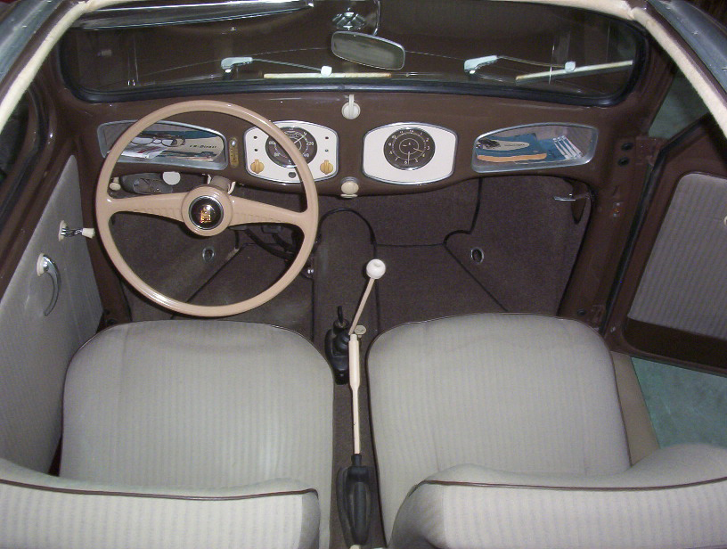 1951 VOLKSWAGEN SPLIT WINDOW 2 DOOR SEDAN - Interior - 43367