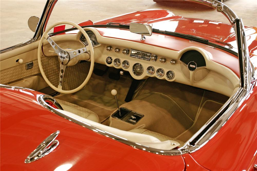 1957 CHEVROLET CORVETTE CONVERTIBLE - Interior - 43378