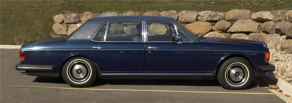 1985 ROLLS-ROYCE SILVER SPUR 4 DOOR SEDAN - Side Profile - 43381