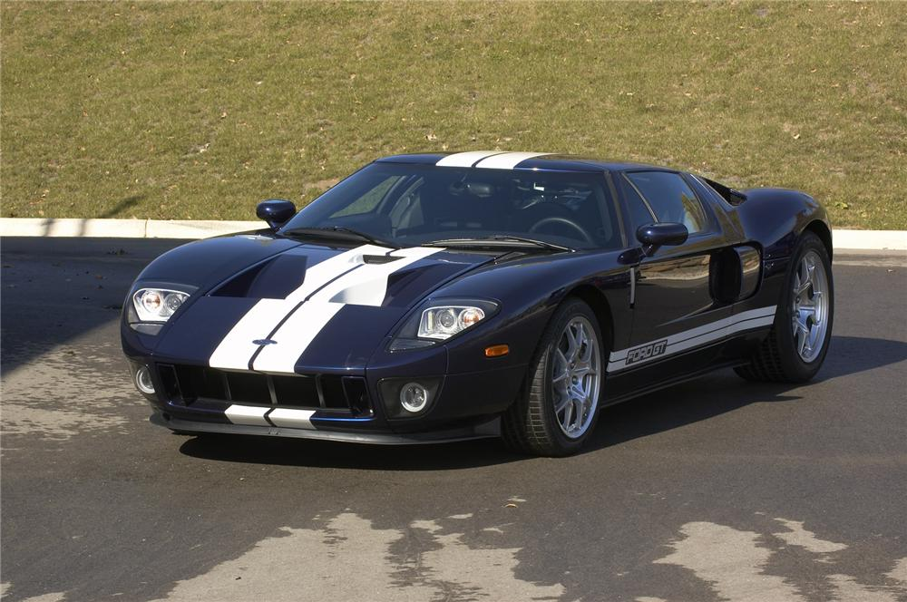 2005 FORD GT COUPE - Front 3/4 - 43383