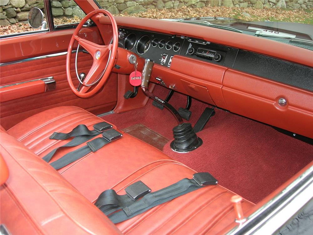 1970 PLYMOUTH ROAD RUNNER CONVERTIBLE - Interior - 43388