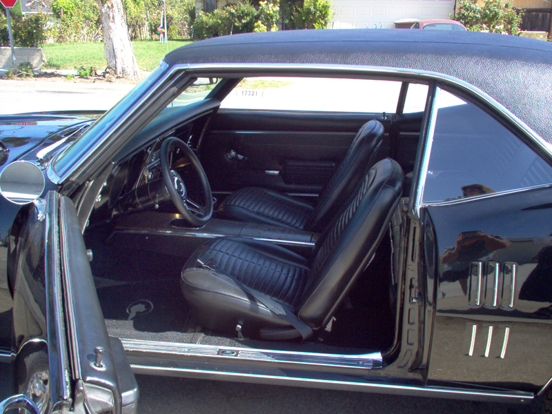 1968 PONTIAC FIREBIRD COUPE - Interior - 43423