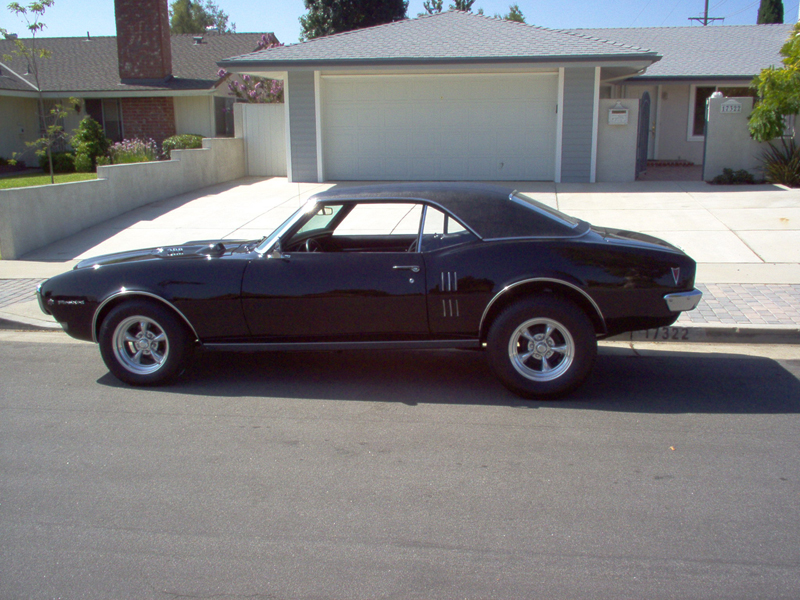 1968 PONTIAC FIREBIRD COUPE - Side Profile - 43423