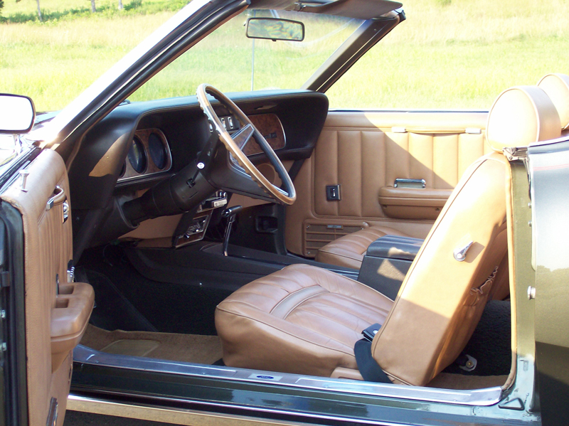 1969 MERCURY COUGAR XR7 CONVERTIBLE - Interior - 43429
