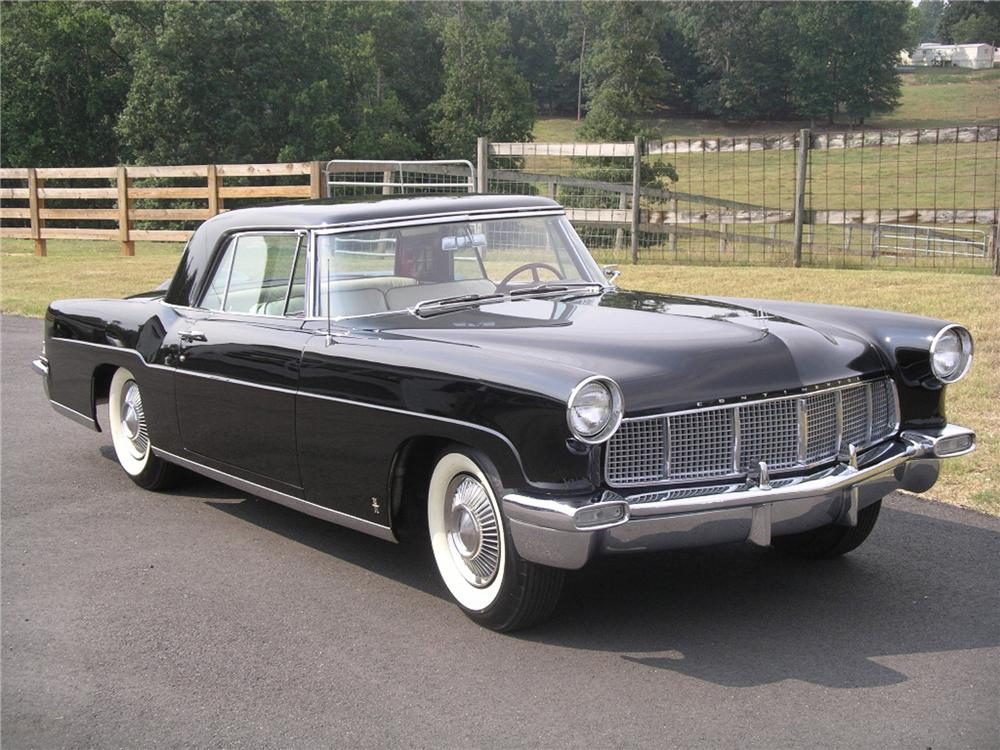 1956 LINCOLN CONTINENTAL MARK II COUPE - Front 3/4 - 43435
