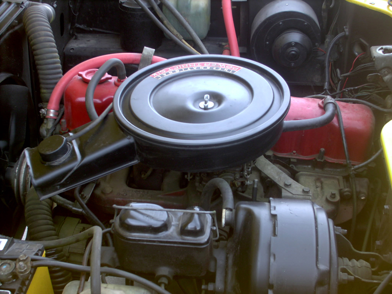 1974 INTERNATIONAL SCOUT II UTILITY - Engine - 43441