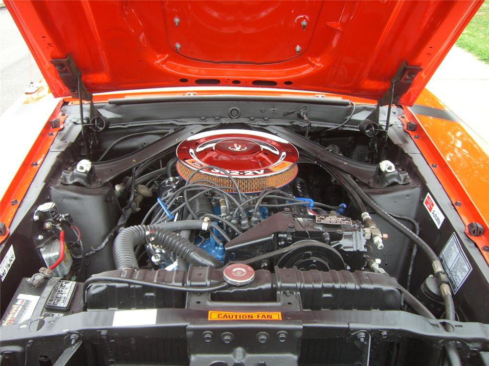1970 FORD MUSTANG COUPE - Engine - 43448