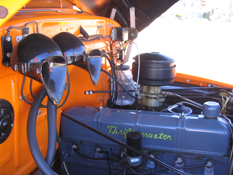 1951 CHEVROLET 3600 PICKUP - Engine - 43450