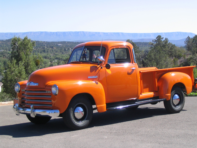1951 CHEVROLET 3600 PICKUP - Front 3/4 - 43450