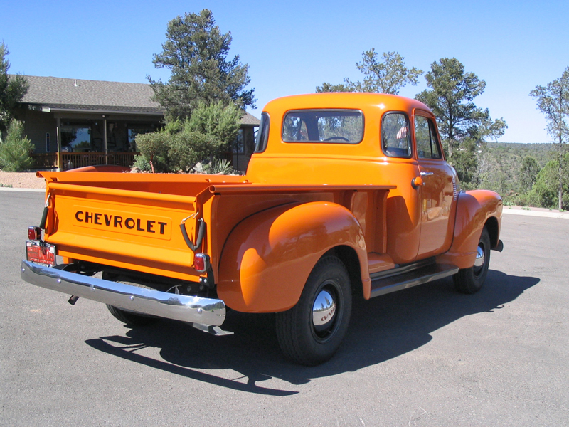 1951 CHEVROLET 3600 PICKUP - Rear 3/4 - 43450