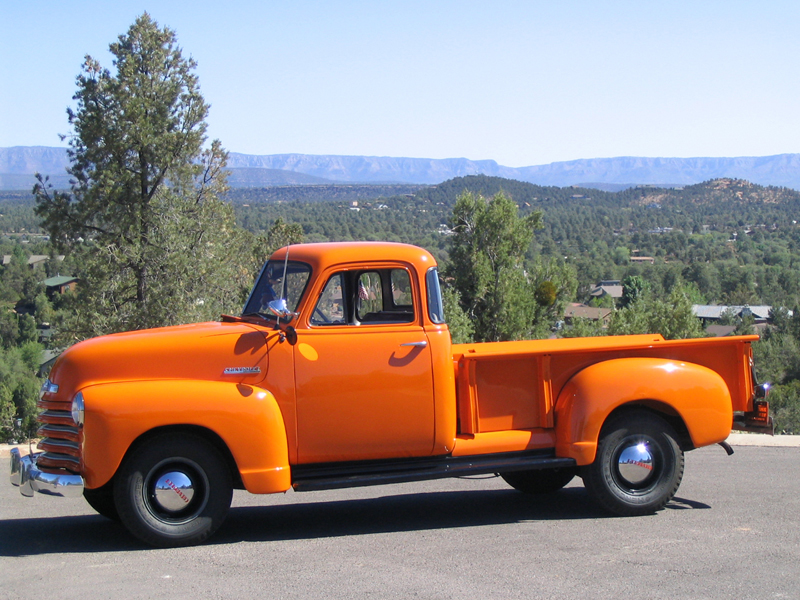 1951 CHEVROLET 3600 PICKUP - Side Profile - 43450