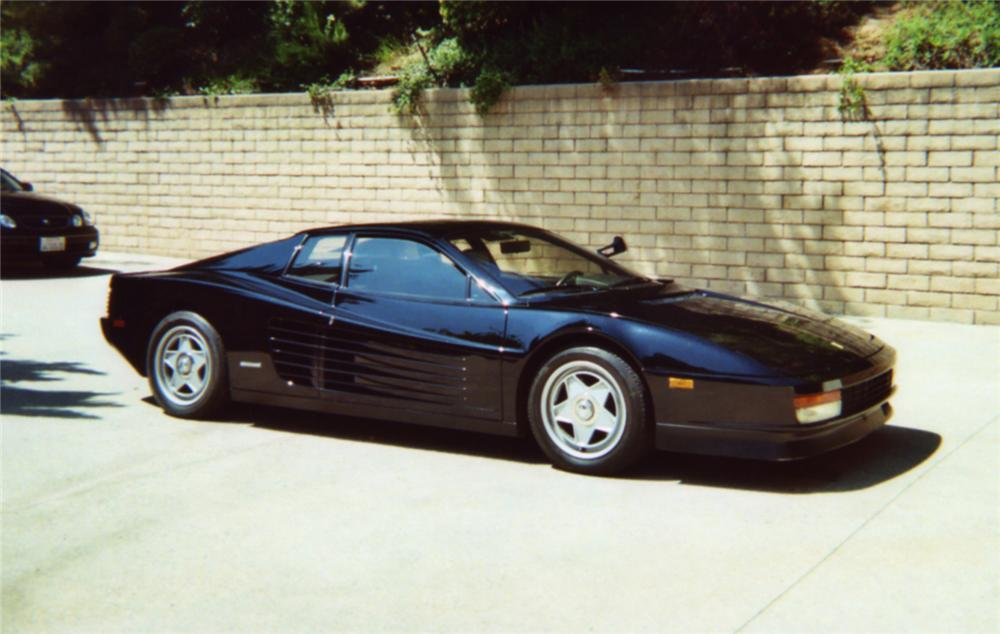 1986 FERRARI TESTAROSSA   - Side Profile - 43453