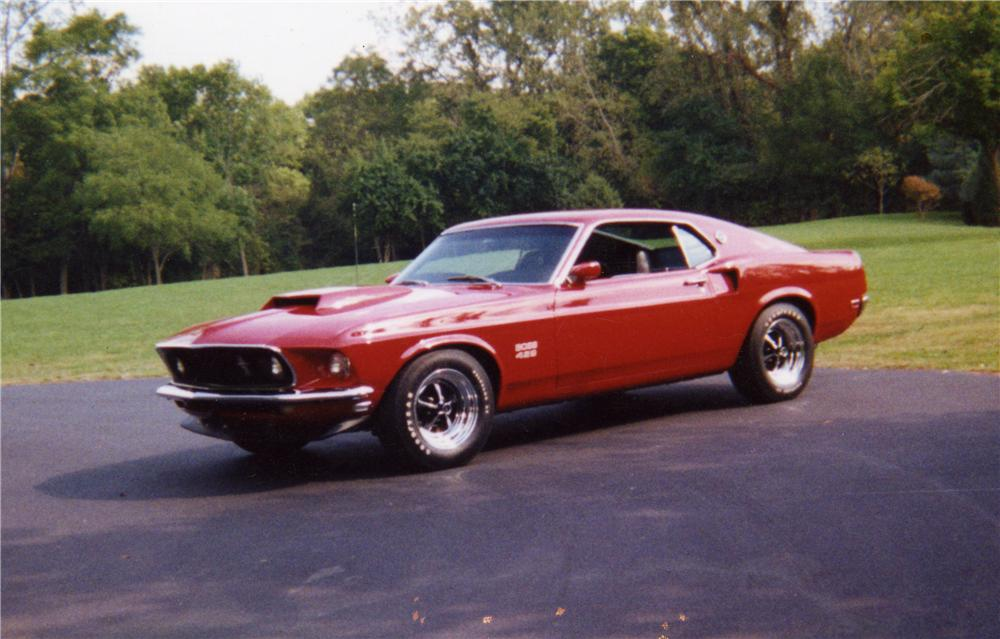 1969 FORD MUSTANG BOSS 429 FASTBACK - Front 3/4 - 43462