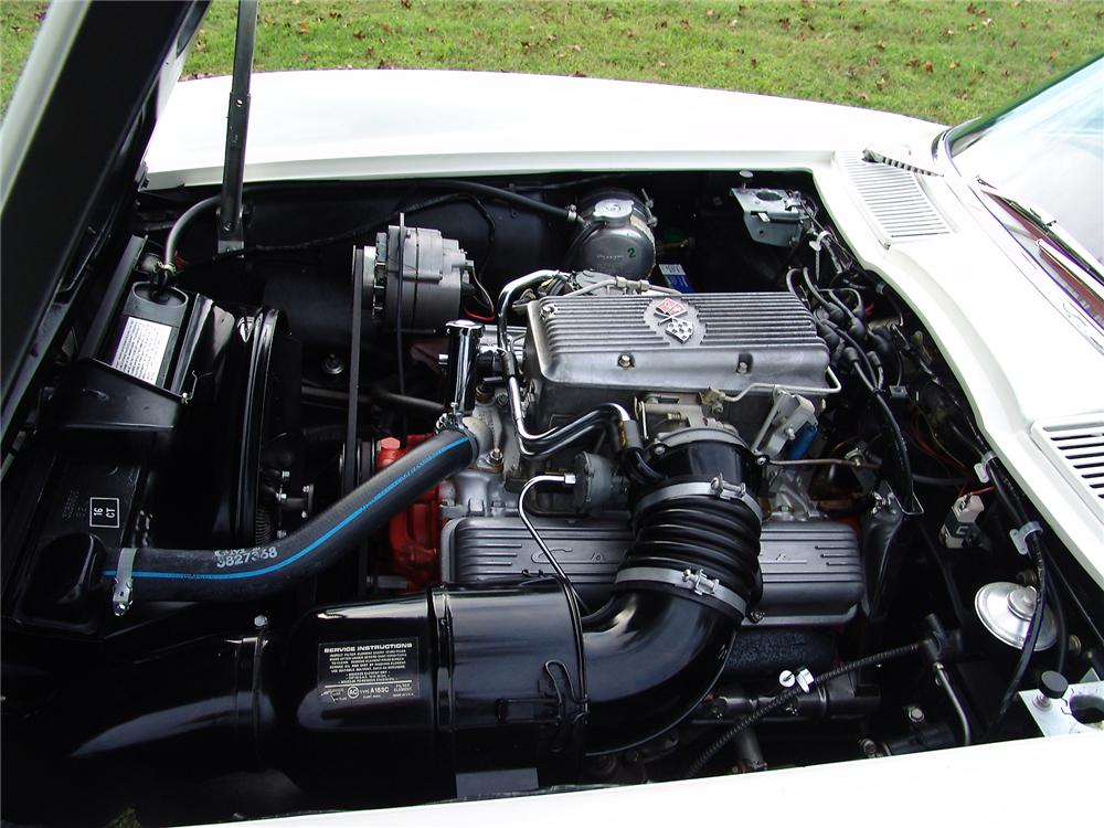 1963 CHEVROLET CORVETTE CONVERTIBLE - Engine - 43471