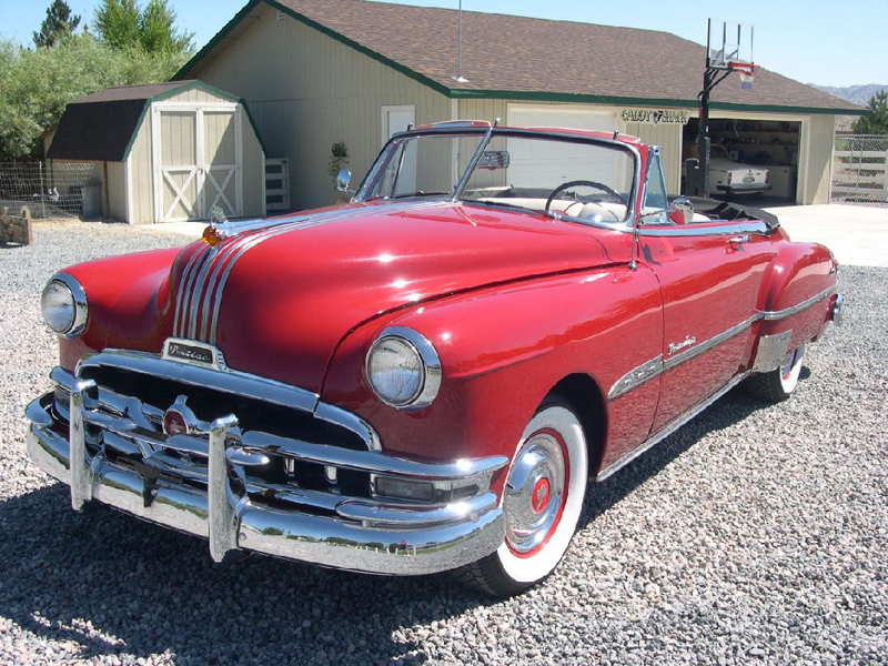 1951 PONTIAC CHIEFTAIN CONVERTIBLE - Front 3/4 - 43472