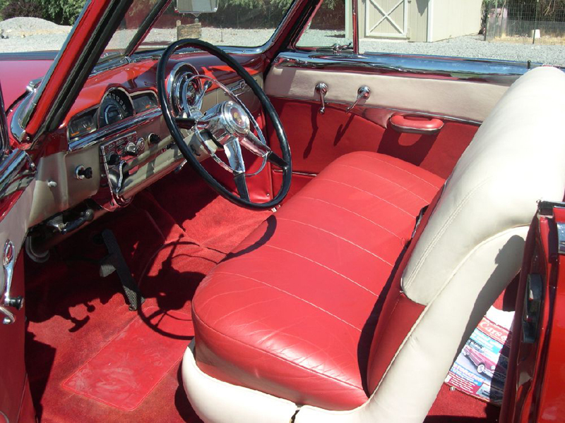 1951 PONTIAC CHIEFTAIN CONVERTIBLE - Interior - 43472