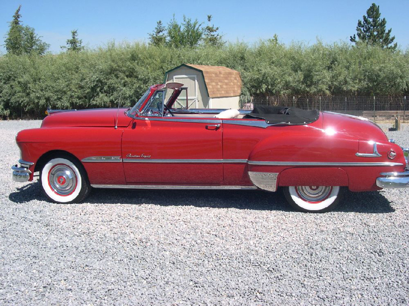 1951 PONTIAC CHIEFTAIN CONVERTIBLE - Side Profile - 43472