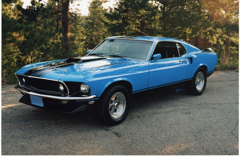 1969 FORD MUSTANG CUSTOM FASTBACK - Front 3/4 - 43474