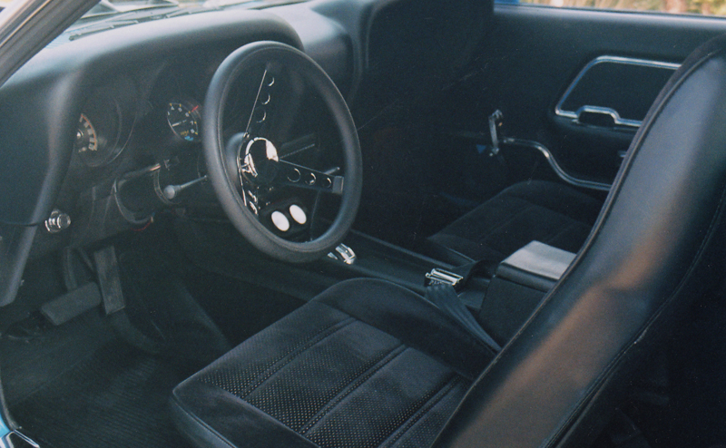 1969 FORD MUSTANG CUSTOM FASTBACK - Interior - 43474