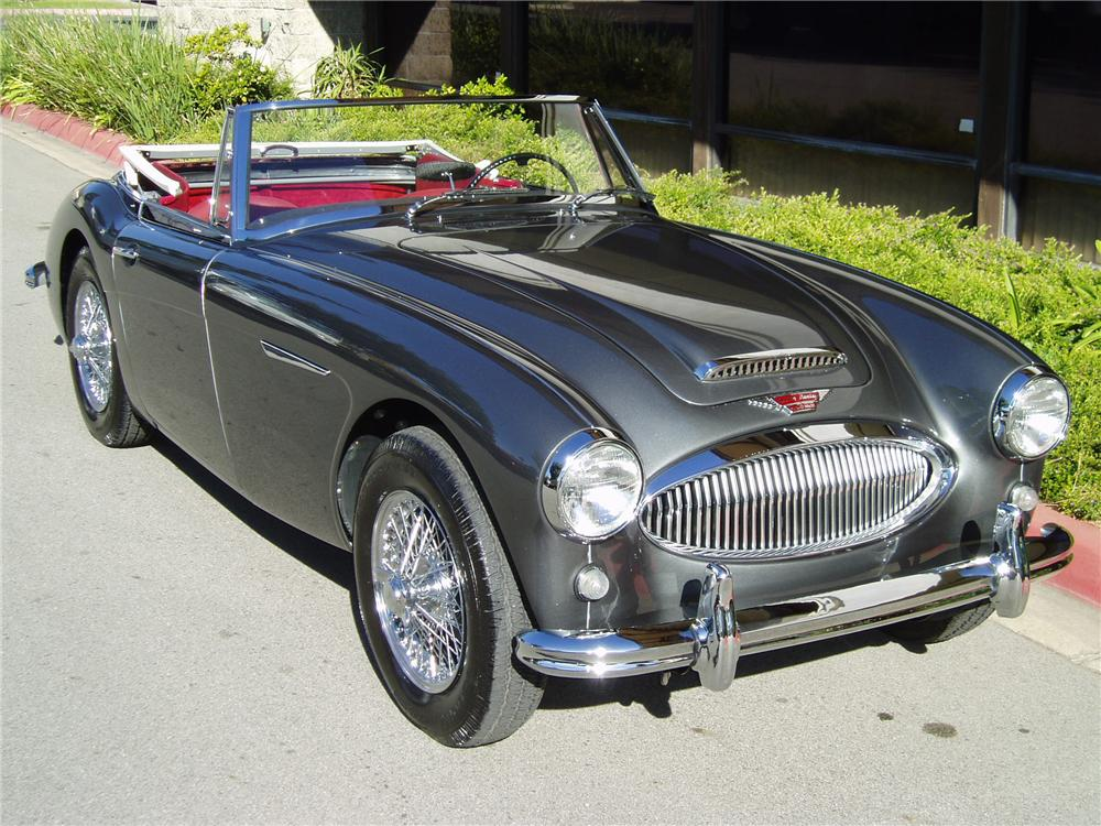 1964 AUSTIN-HEALEY 3000 MARK III BJ8 CONVERTIBLE - Front 3/4 - 43482
