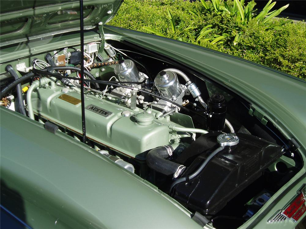 1964 AUSTIN-HEALEY 3000 MARK III BJ8 CONVERTIBLE - Engine - 43483