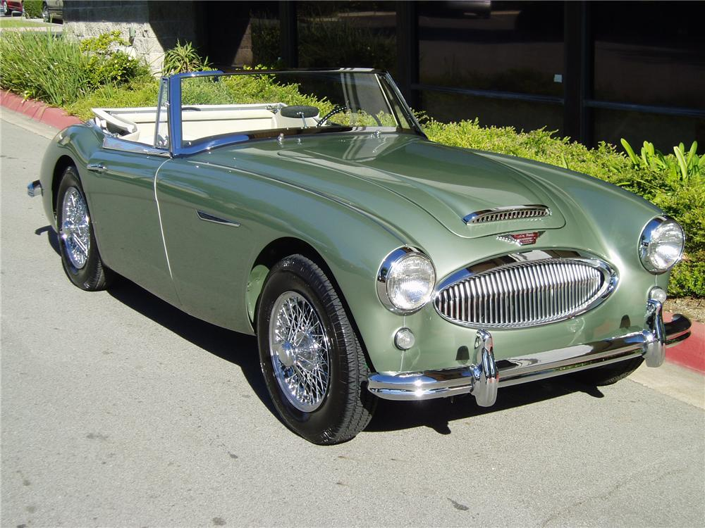1964 AUSTIN-HEALEY 3000 MARK III BJ8 CONVERTIBLE - Front 3/4 - 43483