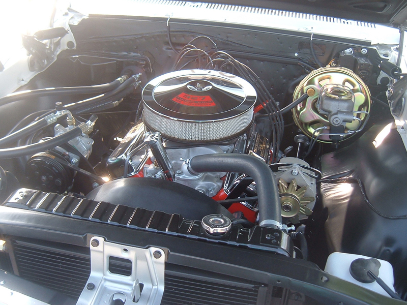 1967 CHEVROLET EL CAMINO PICKUP - Engine - 43487