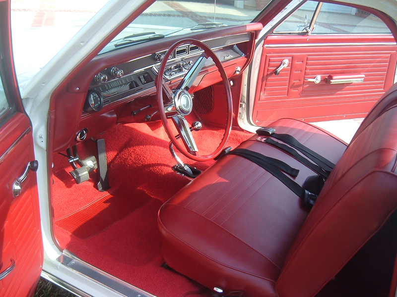 1967 CHEVROLET EL CAMINO PICKUP - Interior - 43487