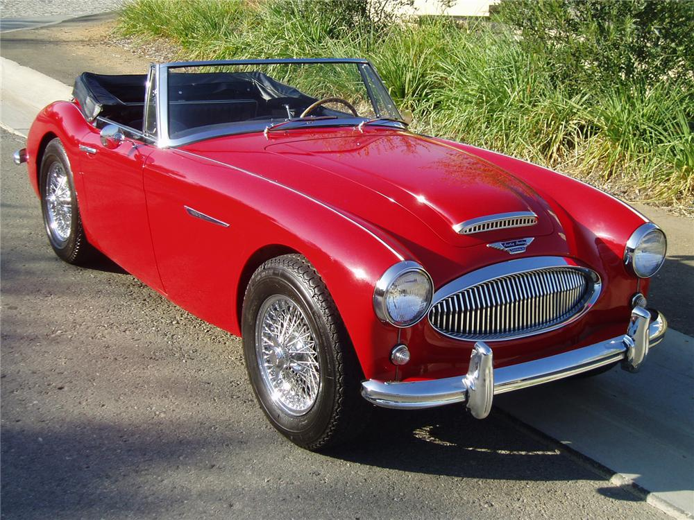 1964 AUSTIN-HEALEY 3000 MARK III BJ8 CONVERTIBLE - Front 3/4 - 43489
