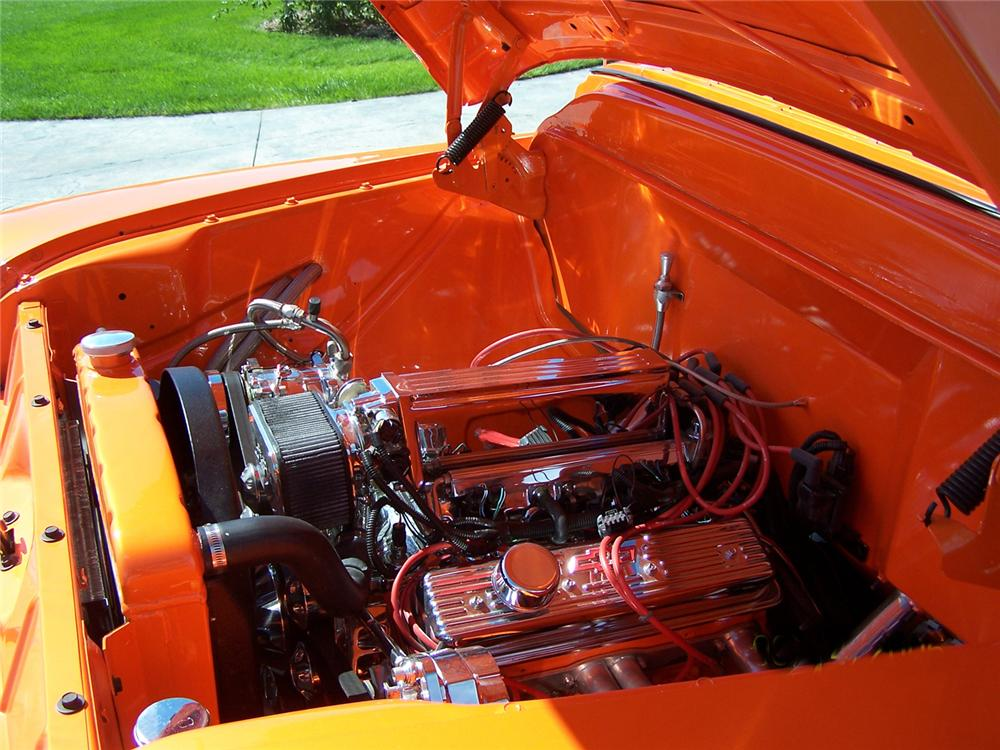 1955 CHEVROLET 3100 CUSTOM PICKUP - Engine - 43496
