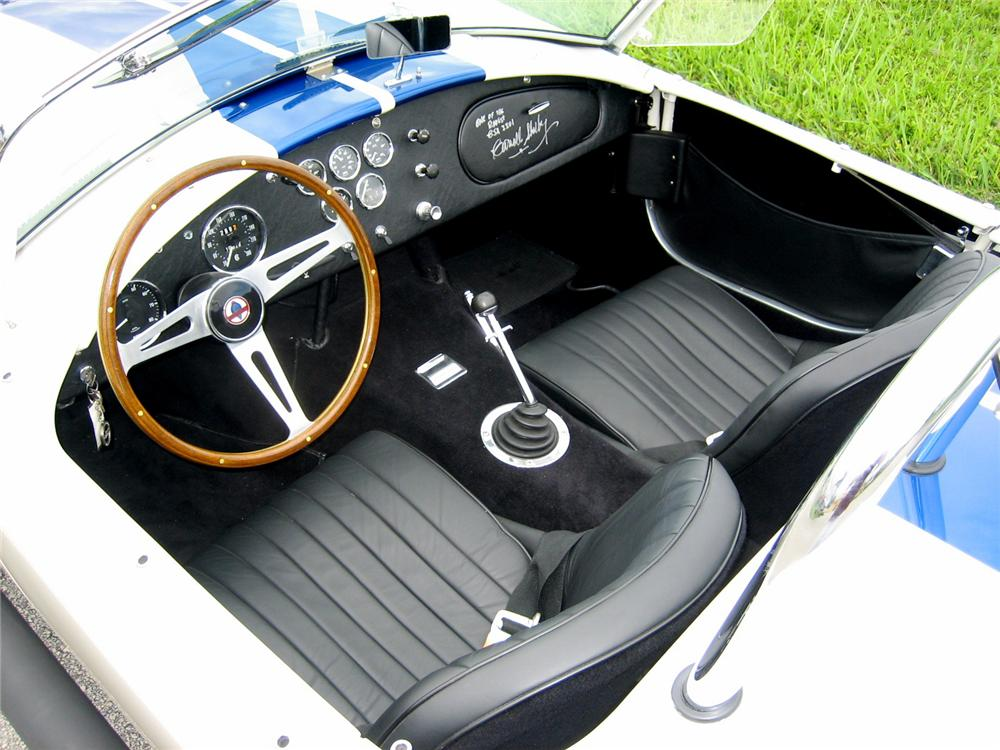 1966 SHELBY COBRA 427 ROADSTER CSX3301 - Interior - 43506