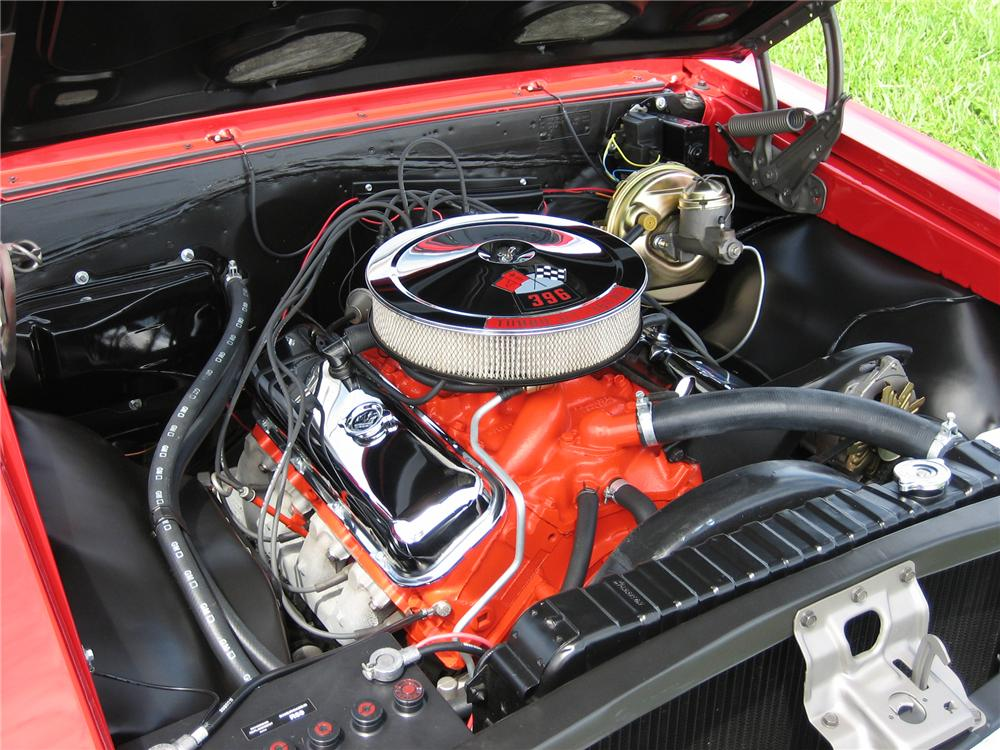 1966 CHEVROLET CHEVELLE SS 396 CONVERTIBLE - Engine - 43507